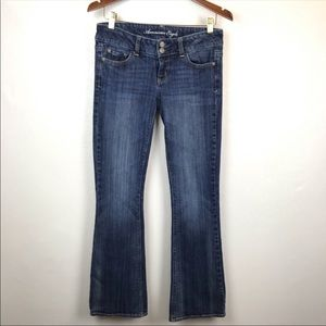 American Eagle Artist Flare Jeans Size 4